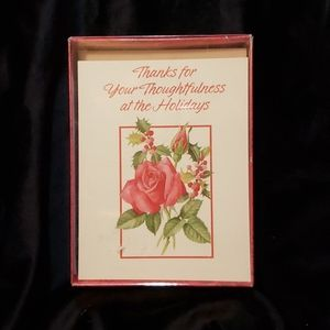 🟢➡️4 for $15⬅️🟢 NIB Holiday Thank You Cards